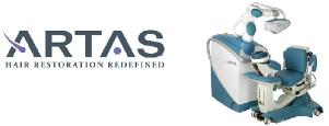 ARTAS Hair Restoration - The Man Clinic - Ageless Men's Health Santa Monica - Anti Aging Clinic - testosterone replacement therapy